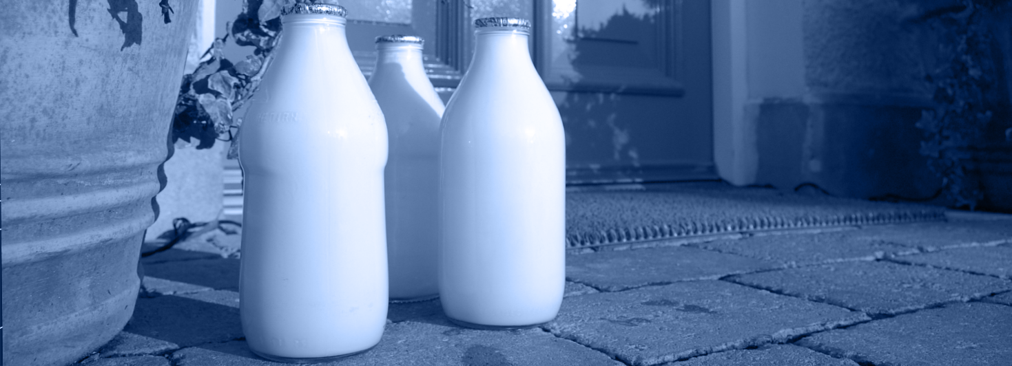 Doorstep milk delivery is back!