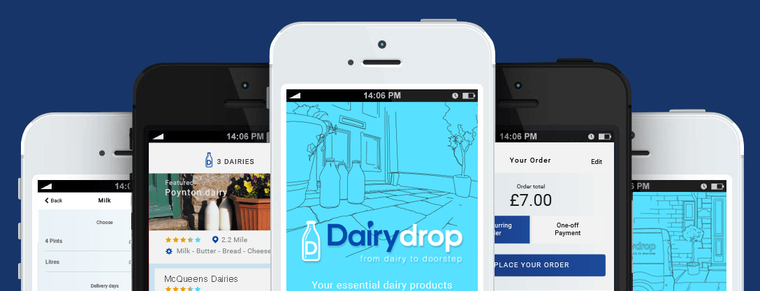 Dairydrop milk delivery