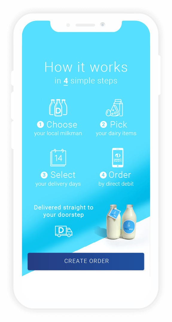 DairyDrop Milk Delivery - How it works